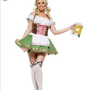 German Beer Maid German Girl Halloween Dress XL